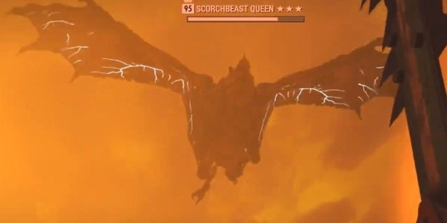 Fallout 76 Players Unleash Terrifying Scorchbeast Queen Following Nuke Launch