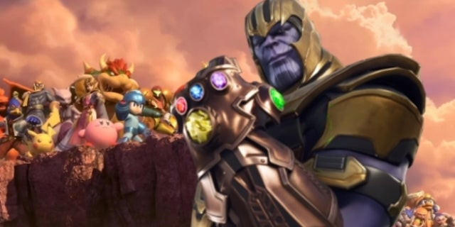 Super Smash Bros Ultimate Collides With Infinity War In This Video