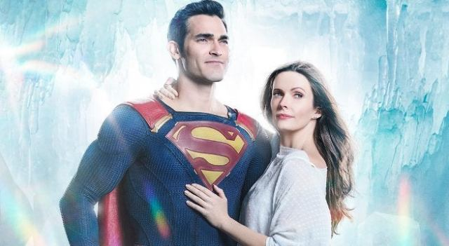 Superman and Lois Lane Arrowverse Elseworlds first look photo