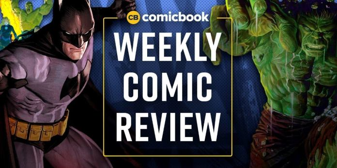 Comic Book Reviews for This Week: 8/14/2019