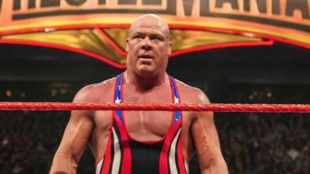 Kurt Angle's Wife Throws Shade at His WrestleMania Retirement ...