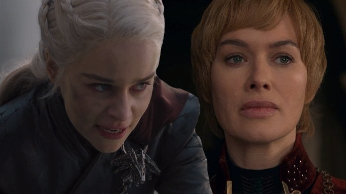 Game Thrones Daenery vs Cersei