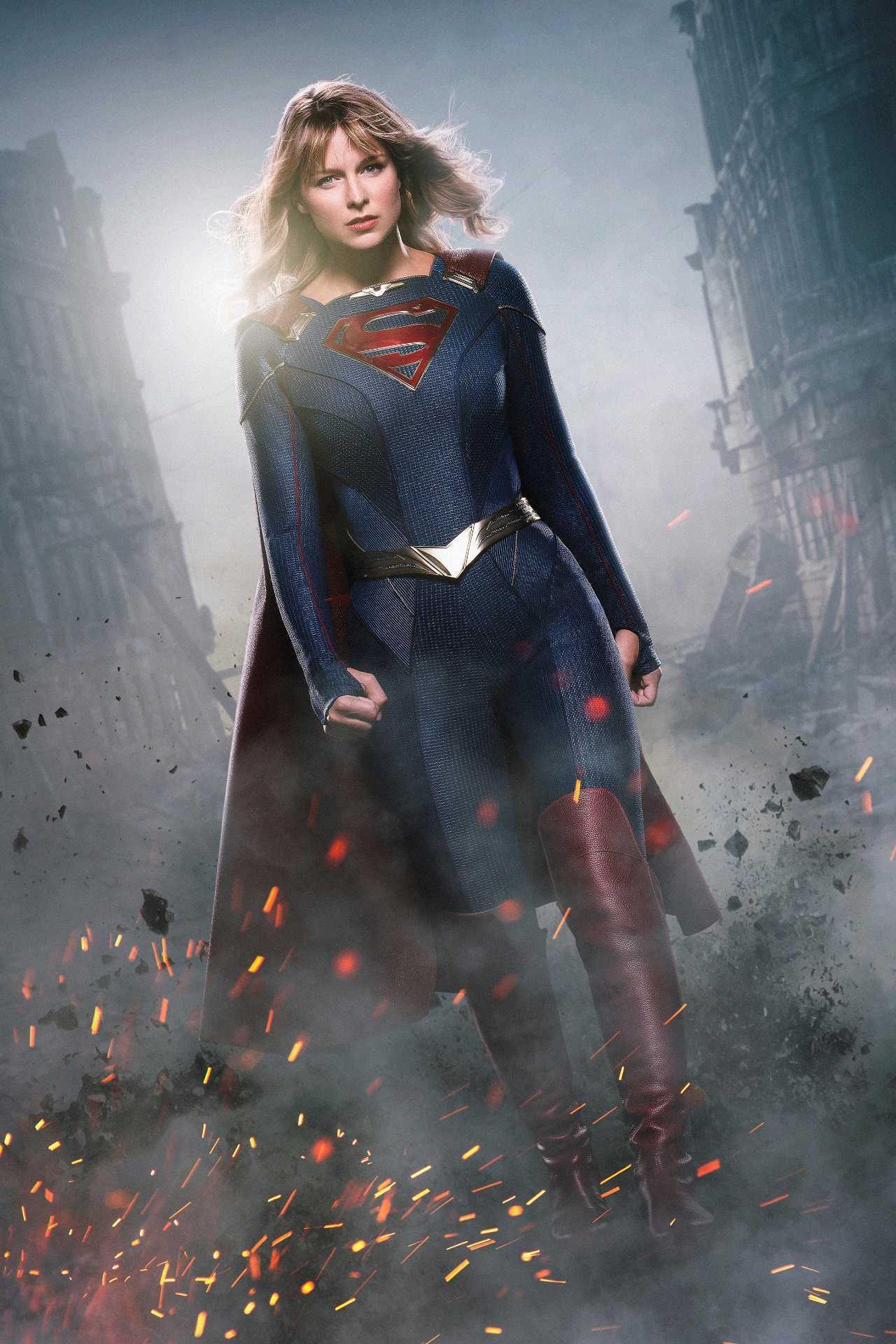 SUPERGIRL New Supersuit