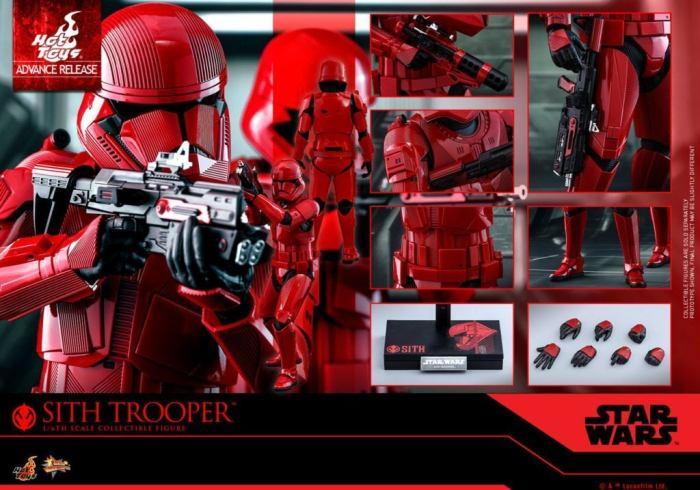 Star Wars Rise Skywalker Sith Trooper - Brinquedos Quentes 2019