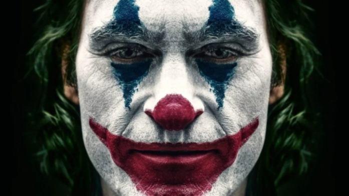 Face of Joker in the movie