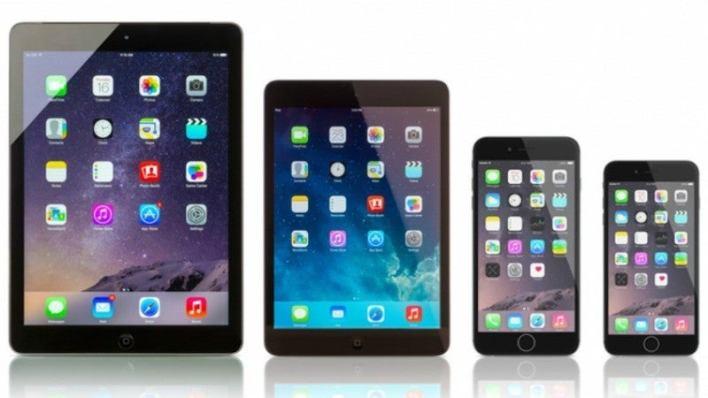 IPad Plus iPhones iPads