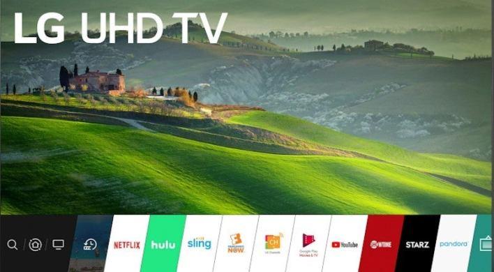 LG Smart TV Disney Plus