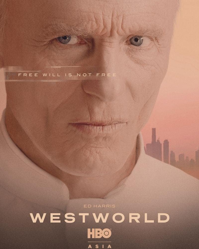 westworld season 3 character posters