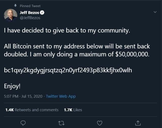 bitcoin scam twitter jeff bezos