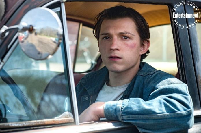 Tom Holland In The Devil ALl The Time Movie