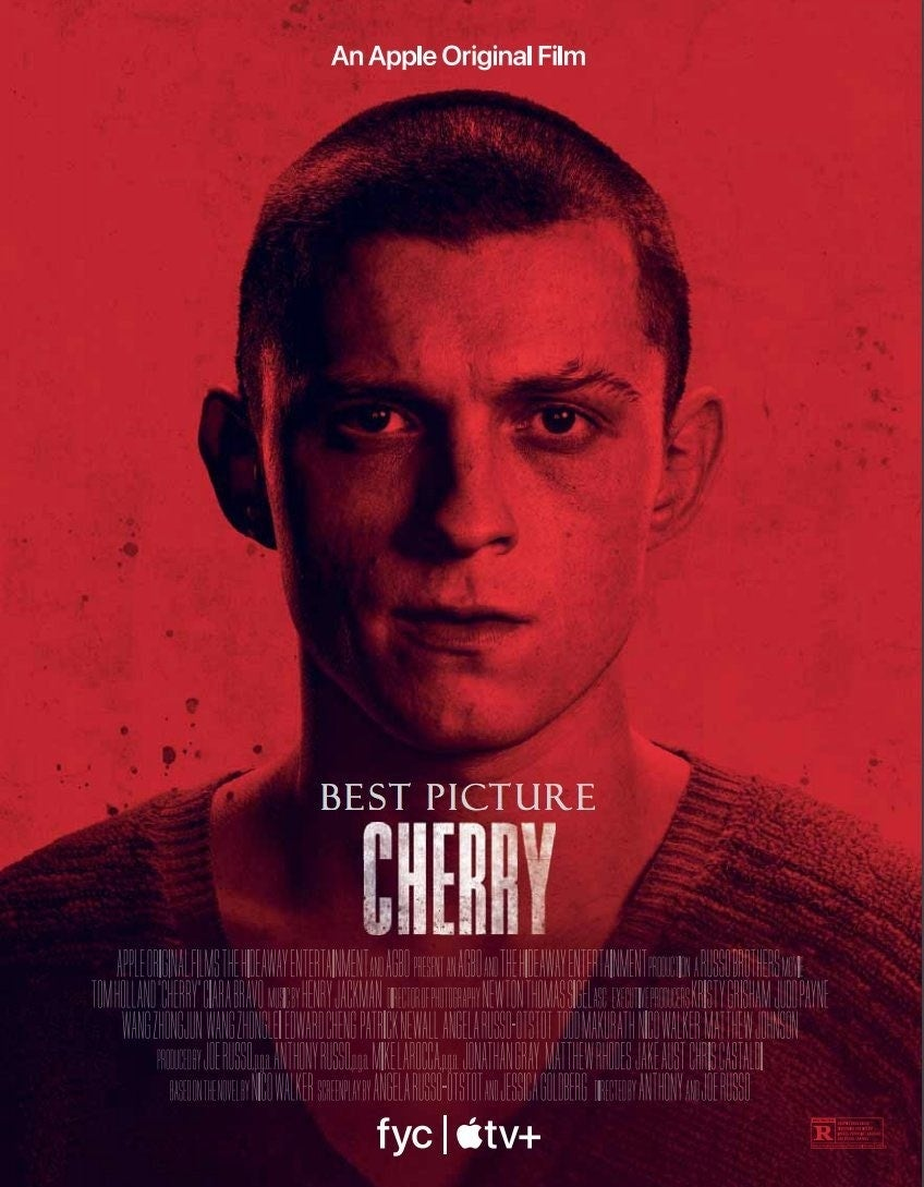cherry poster for new tom holland