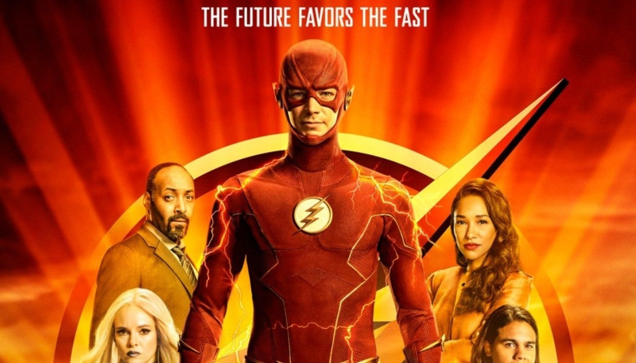 the flash season 7 poster released
