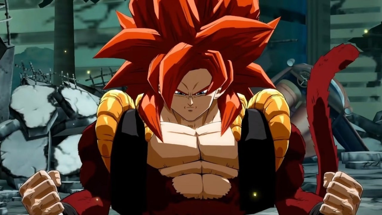 Dragon Ball FighterZ shows the first Gogeta SS4 game