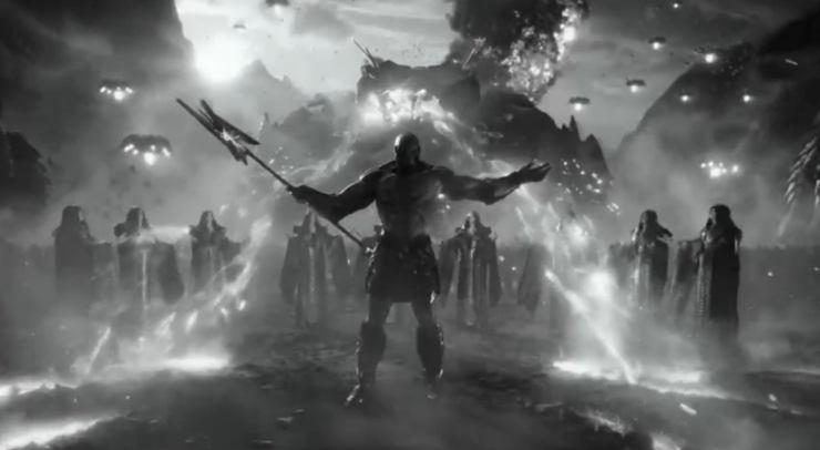 Liga de la Justicia Zack Snyder blanco y negro justice is gray cut