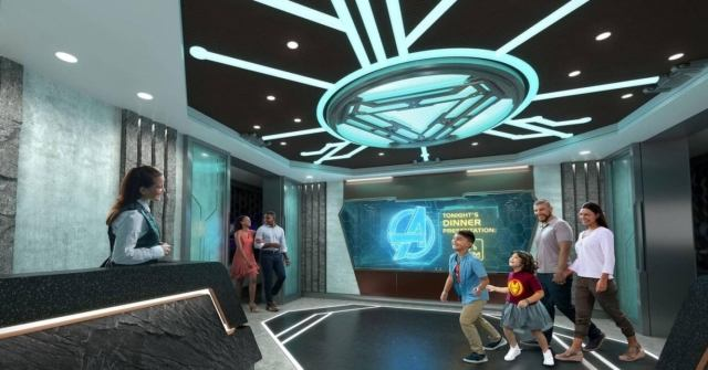 Worlds of Marvel: Disney Wish Setting Sail With First-Ever Marvel Cinematic  Dining Adventure