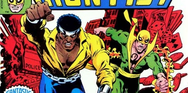 Image result for iron fist and luke cage