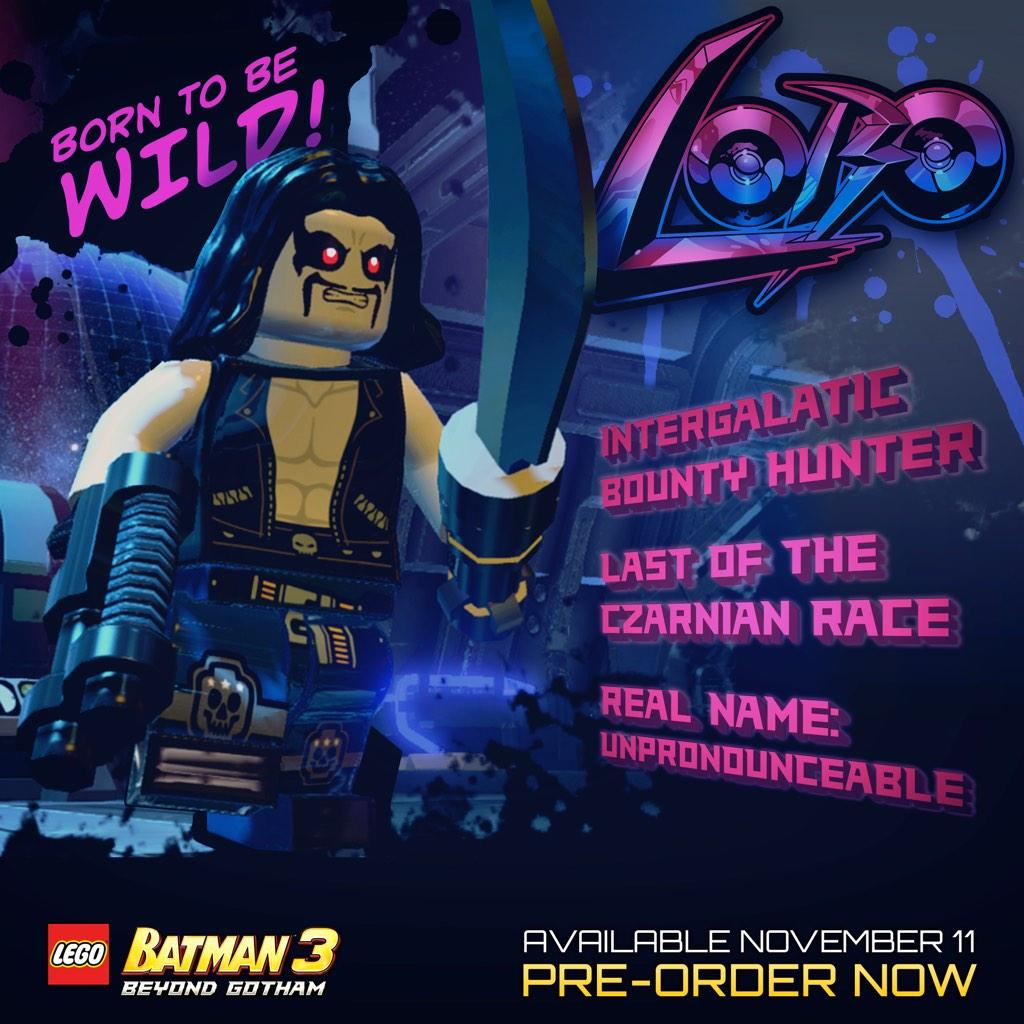 Firestorm Lobo Bane And More Added To Lego Batman 3