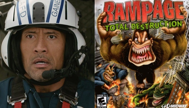 the rock rampage