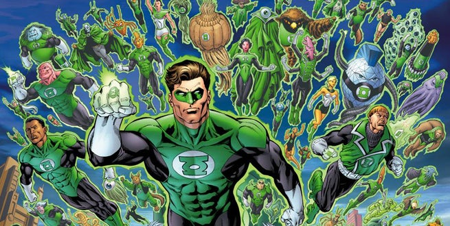 Image result for green lantern core