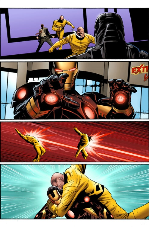 Check Out Iron Mans New Armor In Action