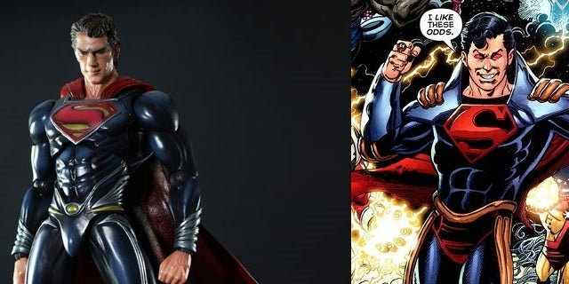 Is Man Of Steels Costume Inspired By Superboy Prime