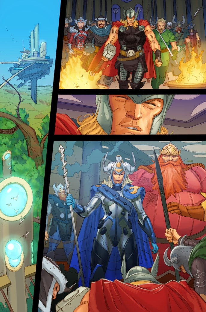 Thor Takes On Malekith In Preview For Next Months Issue