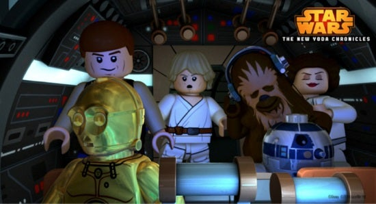 Lego Star Wars The New Yoda Chronicles Escape From The