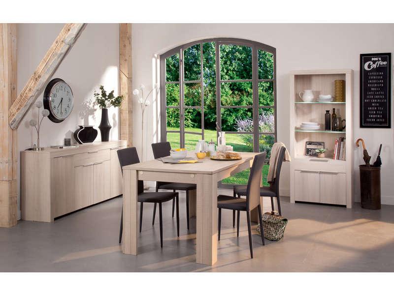 Table Rectangulaire RUBIS Coloris Acacia Vente De Table