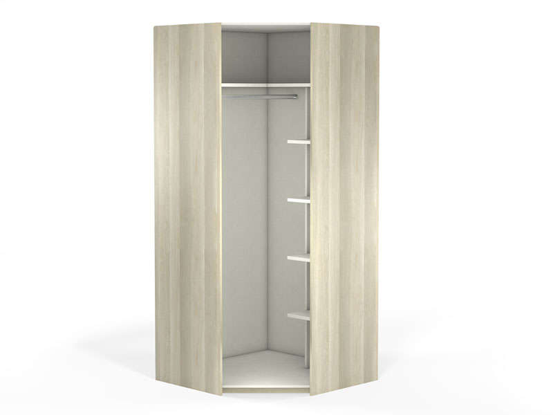 armoire dressing angle conforama