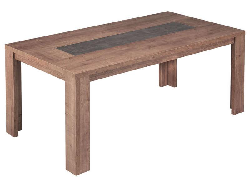 Table Rectangulaire 180 Cm Allonge En Option BREST