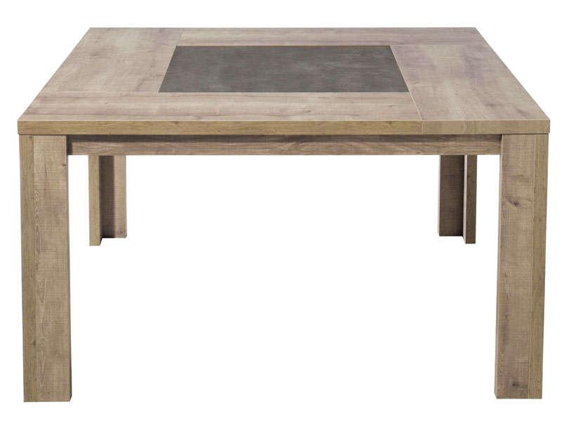 Table Carr E 140 Cm Brest Coloris Ch Ne Vente De Table De