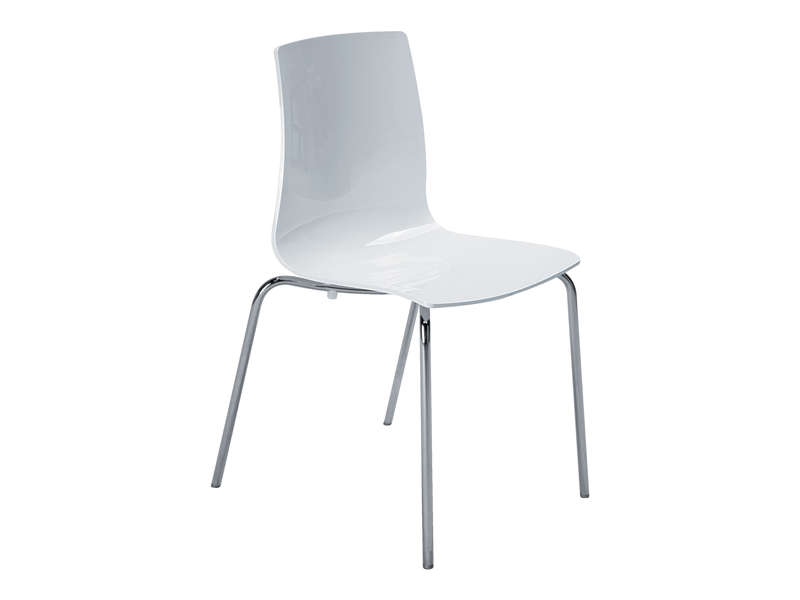 chaise lollipop 2 coloris blanc pas