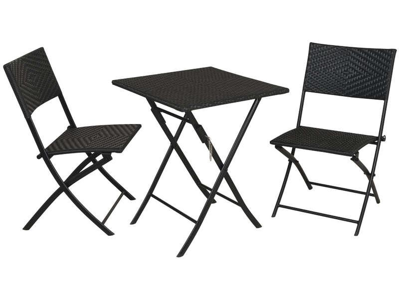 ensemble table et chaise exterieur pas