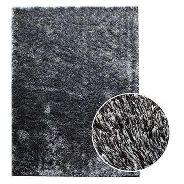 tapis 200x300 cm glitter coloris noir