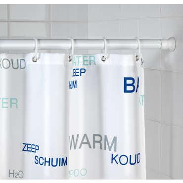 barre de douche extensible 70 a 115 cm