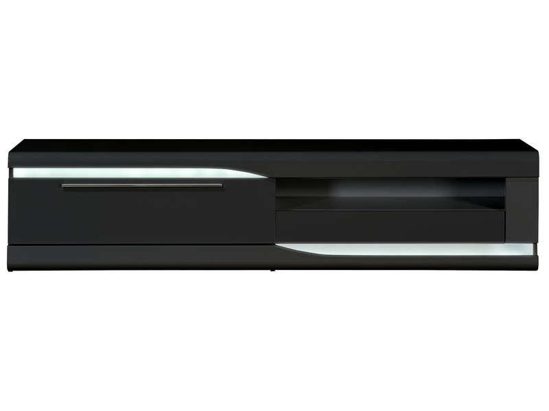 طيار الكود البريدى مصعد meuble tv verre noir conforama