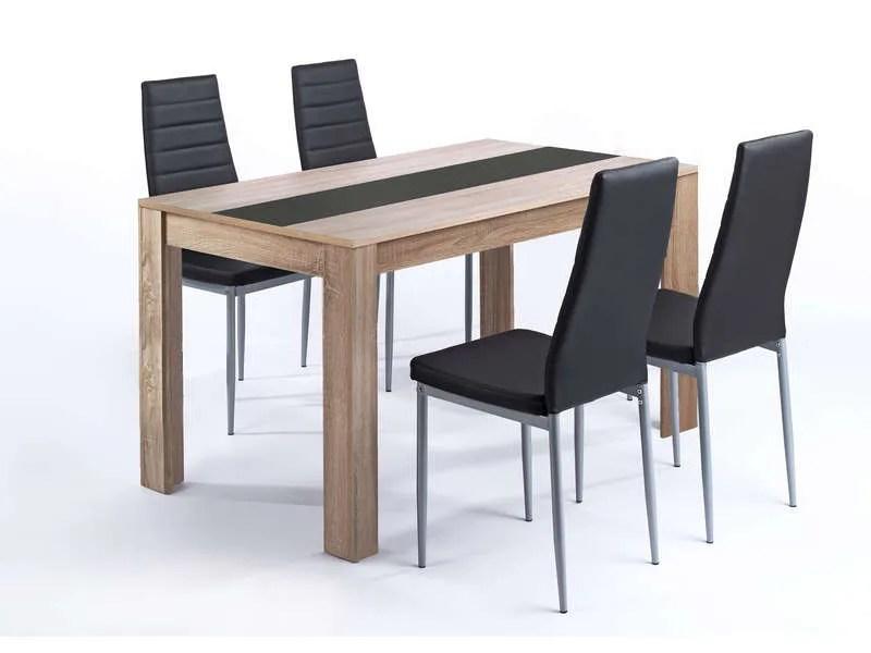 ensemble table et 4 chaises pegasus vente de ensemble table et chaise conforama