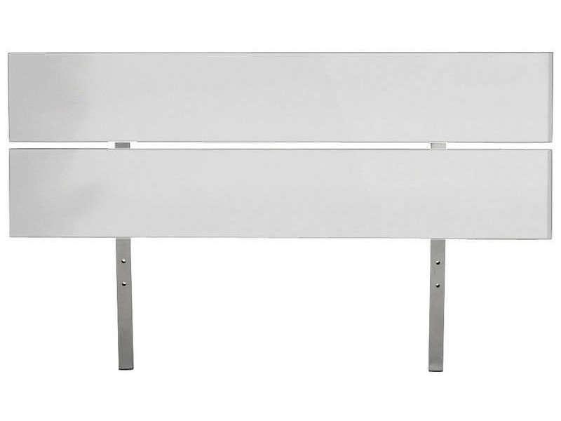 tete de lit 140 cm easy 3 coloris blanc vente de tete de lit conforama