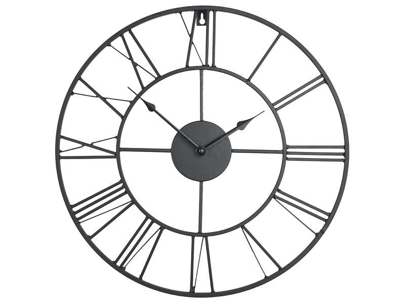 Horloge 60 Cm CLEM Coloris Noir Vente De Horloge Conforama