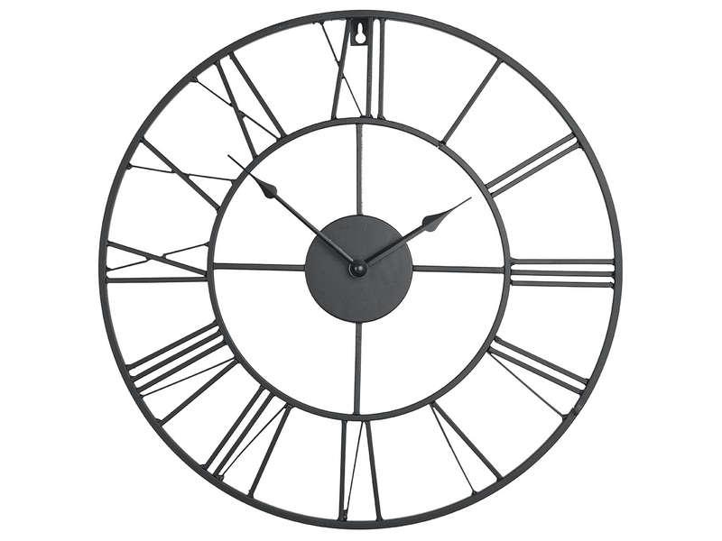 Horloge 80 Cm CLEM Coloris Noir Vente De Horloge Conforama