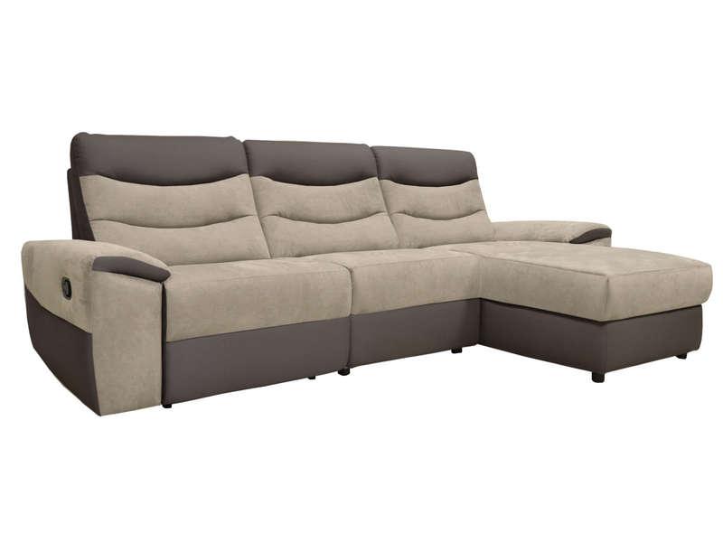canape d angle relaxation manuel 4 places foster coloris gris clair anthracite en pu tissu vente de canape d angle conforama