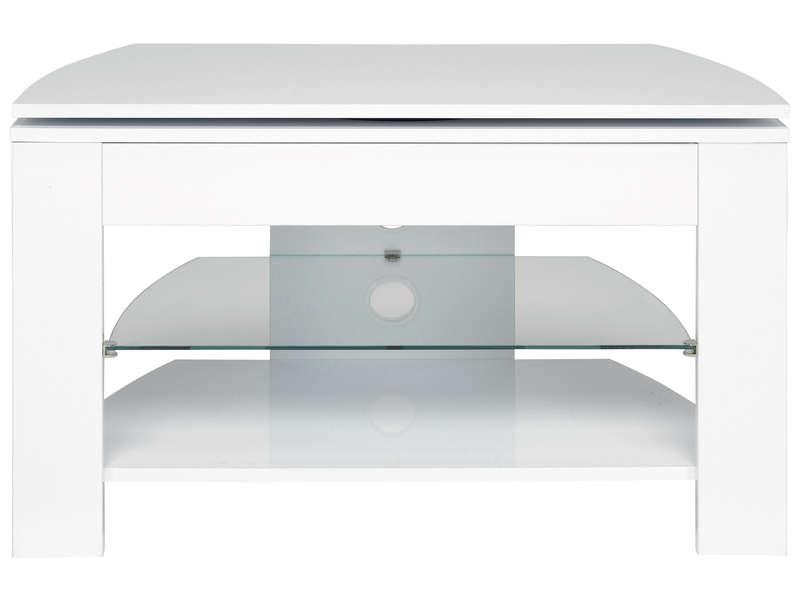 meuble tv passo 4 coloris blanc pas