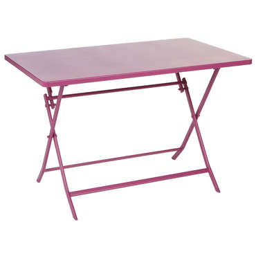 table pliante greensboro coloris prune