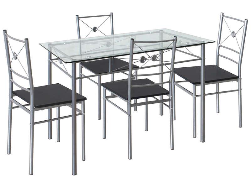 ensemble table 4 chaises de cuisine