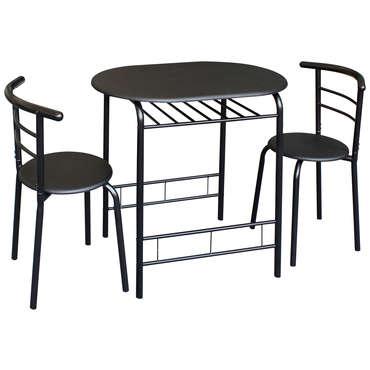 ensemble table et 2 chaises de cuisine
