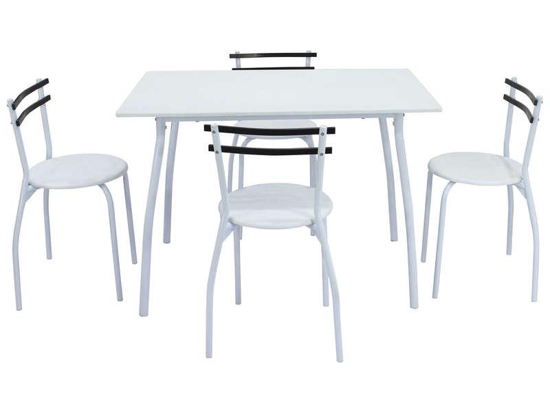 ensemble table et chaises de cuisine rec