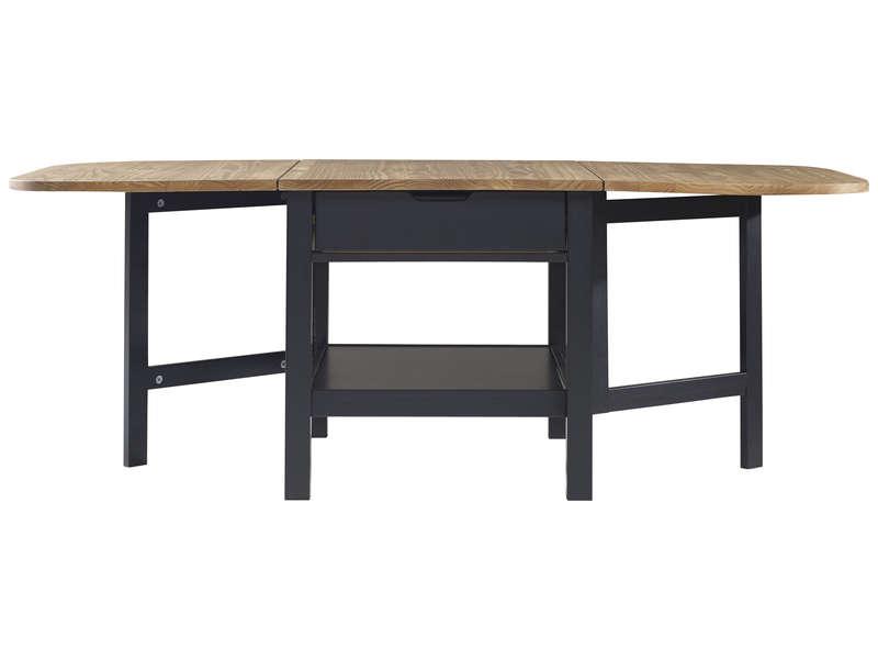 table basse pliante en pin massif