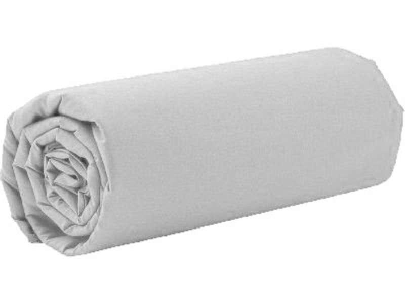 Drap Housse 120x190 Cm Perla Coloris Blanc Vente De Drap Housse Conforama