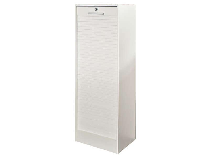 Classeur A Rideau 106 Cm Coloris Blanc Conforama