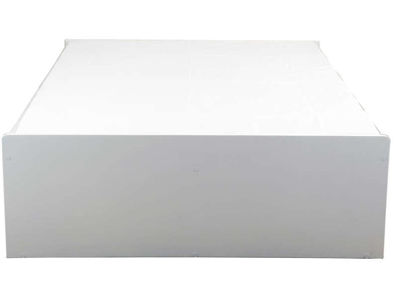 Lit Adulte 140x190 Cm Belem Coloris Blanc Vente De Lit Adulte Conforama